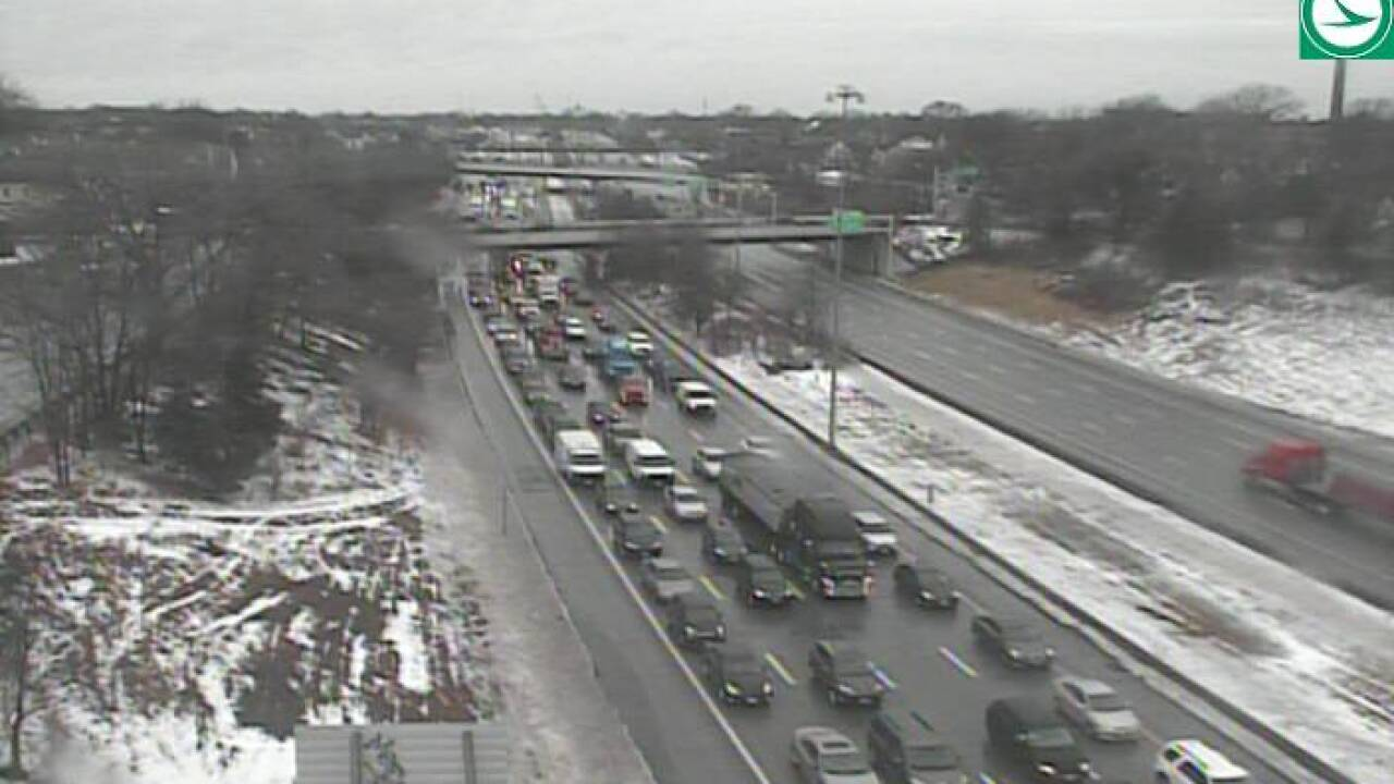 Crash closes right lane of I-90 eastbound near West 44th ...