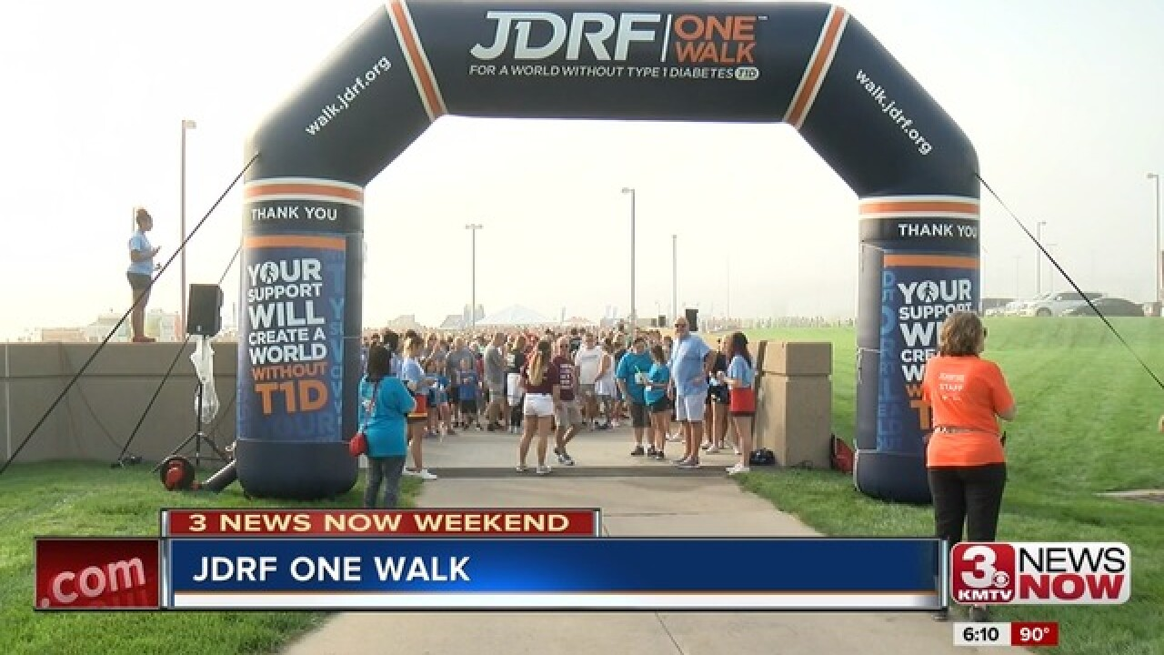 JDRF Walk raises money for Type-1 Diabetes research