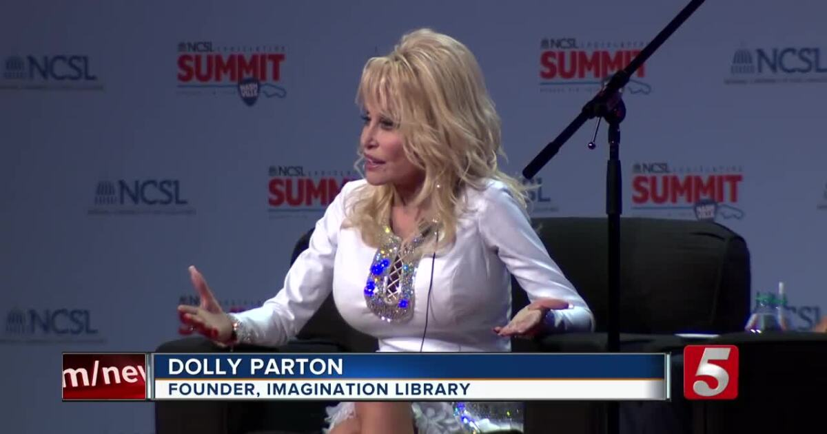 Dolly Parton talks literacy at NCSL