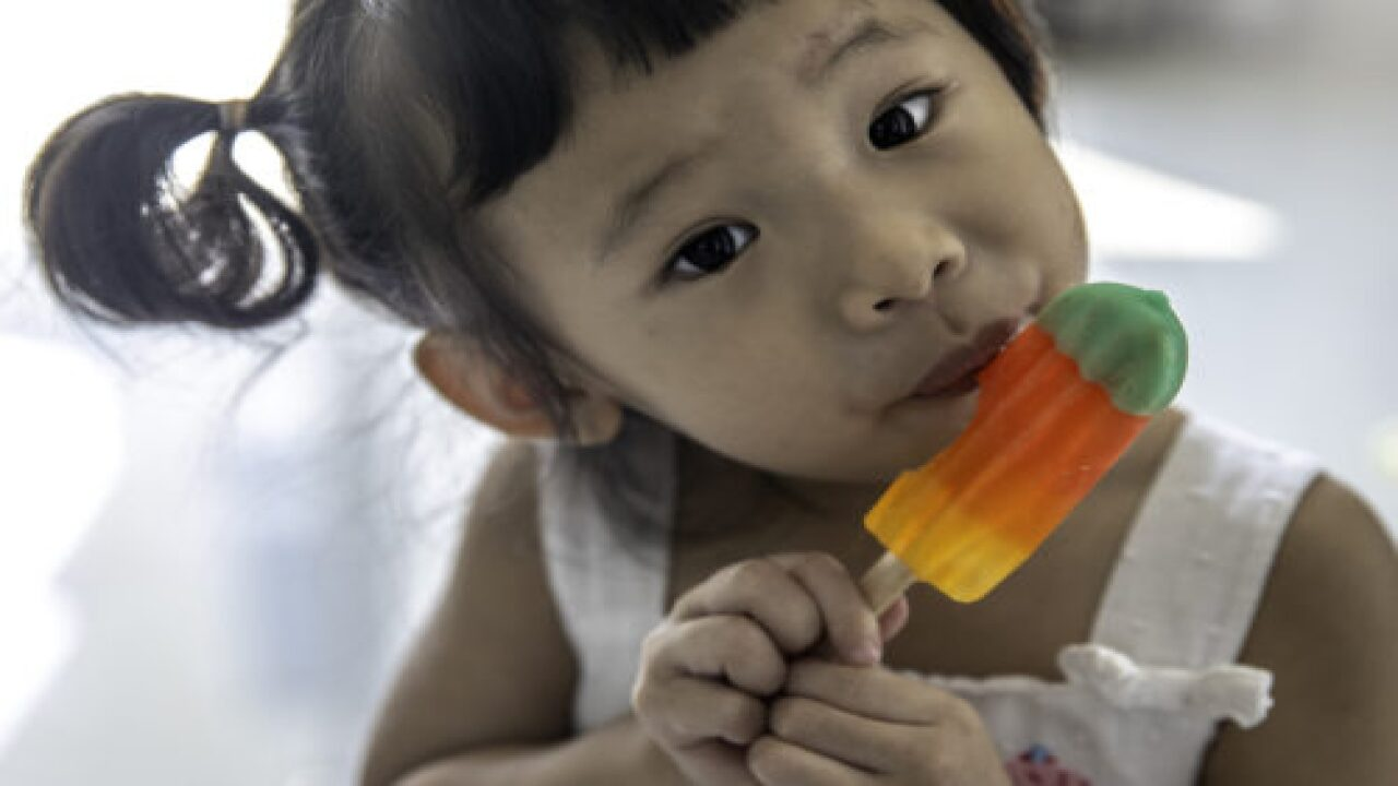 Eating A Popsicle In The Shower Can Help Calm Overwhelmed Kids