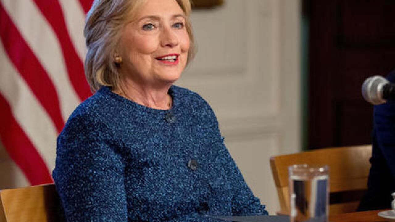 Clinton back on campaign trail after releasing health info