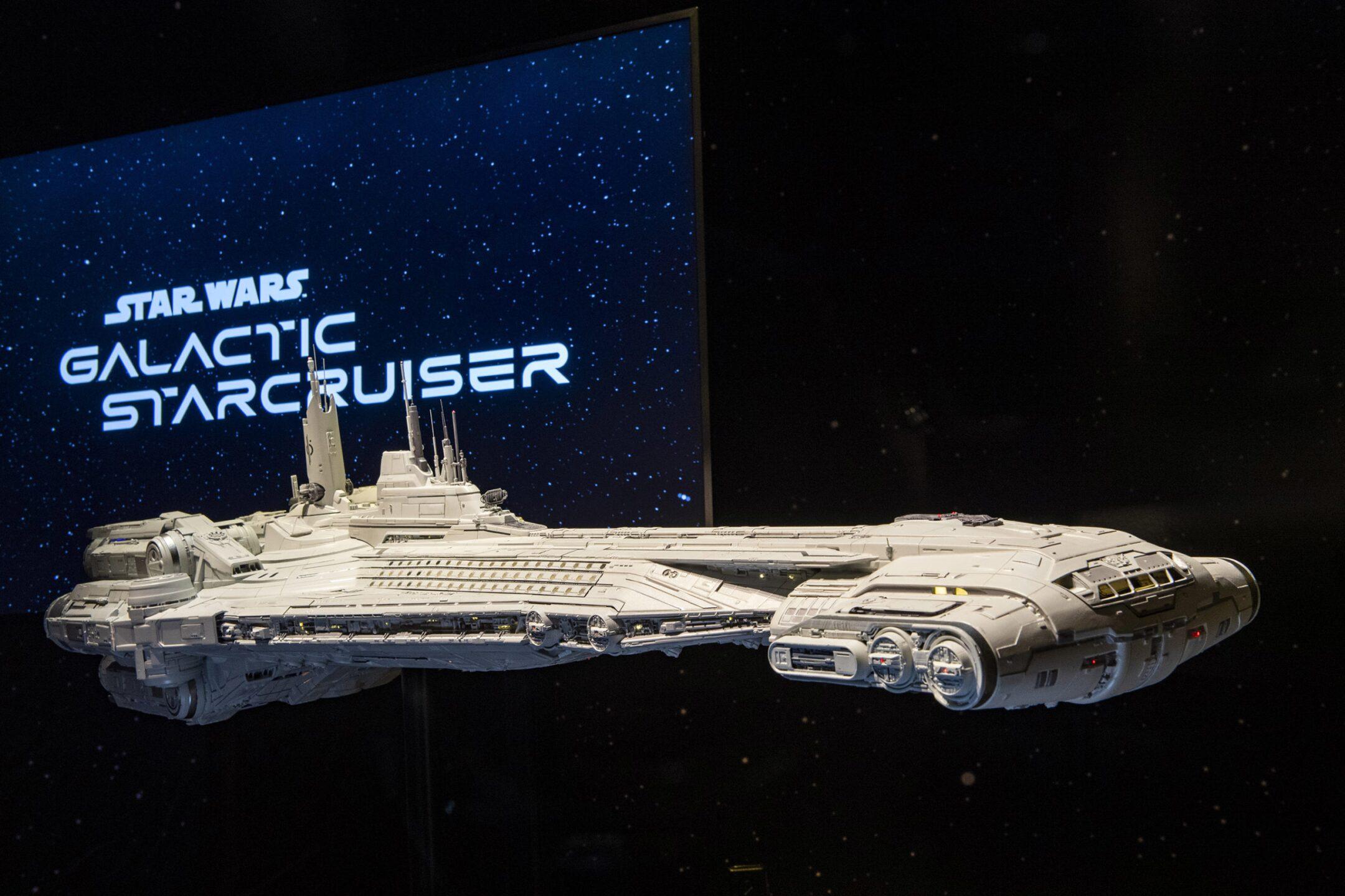 Star Wars: Galactic Starcruiser Model at Disney's Hollywood Stud