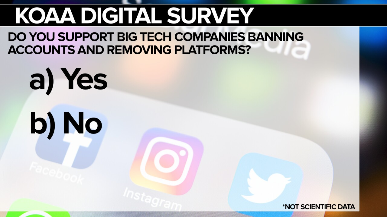 KOAA Survey Social Media