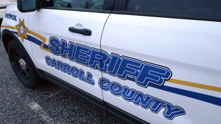 While investigating injured deer, Carroll County Sheriff car struck in hit-and-run