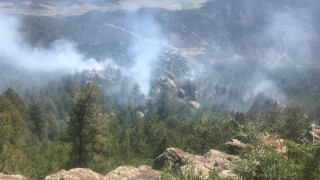 Canyonlands Fire July 2019