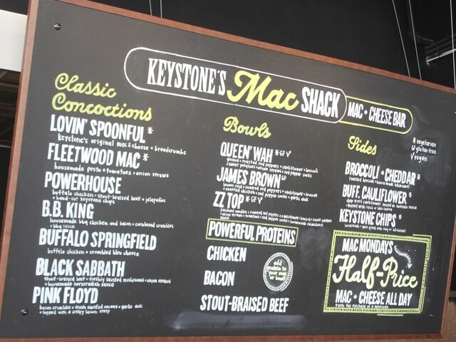 Check out the new Keystone's Mac Shack in Green Township