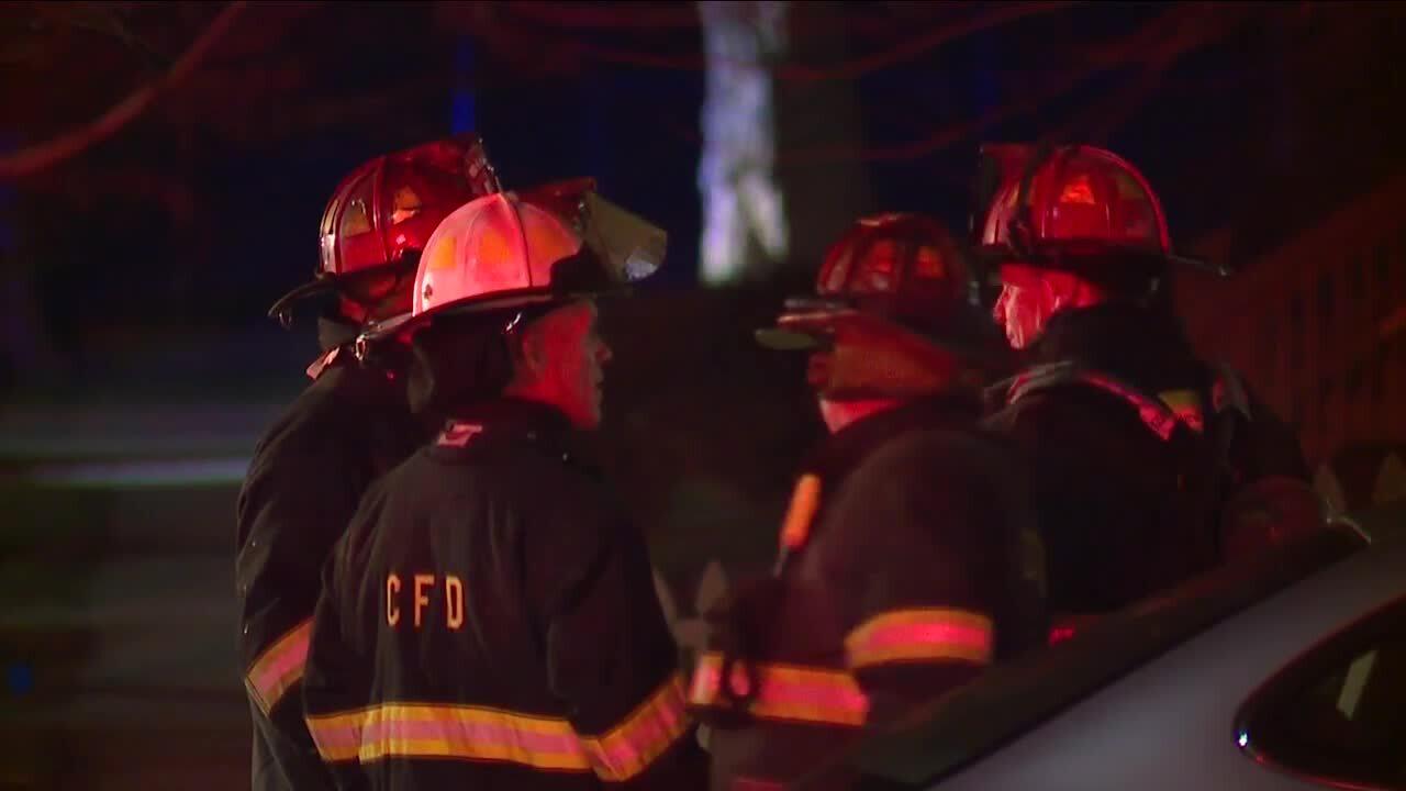 Cleveland fire west 61st street arson