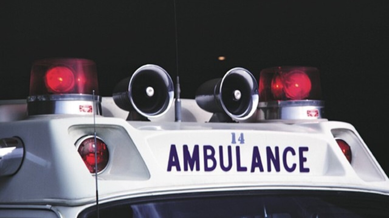 Three hurt when motorcycle hits pedestrian