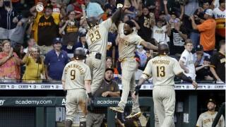 Padres Astros Baseball