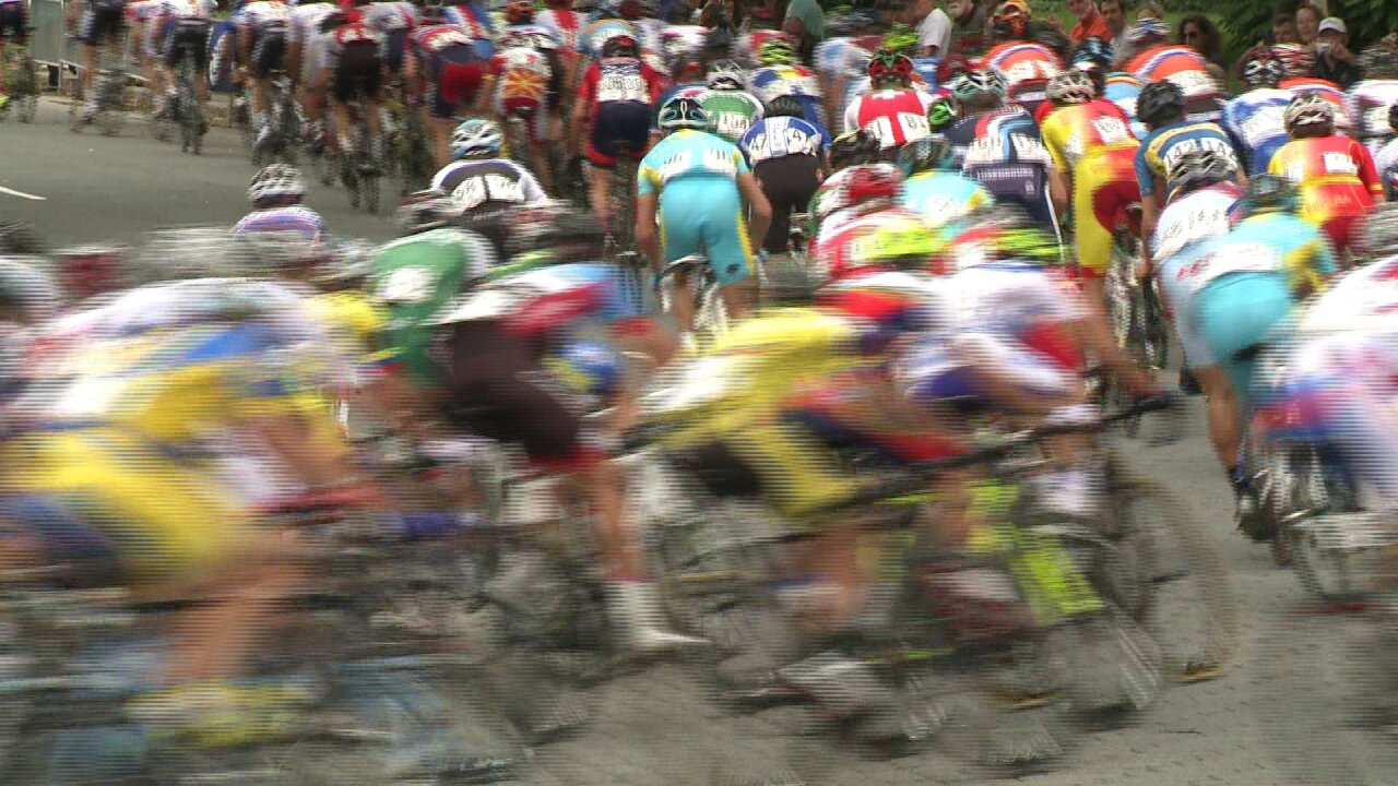 'Curiosity got the best of me,' UCI race spectator says, 'it's like nothing I've everseen'