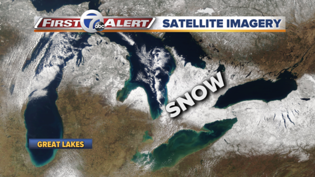 Satellite captures great shot of Great Lakes