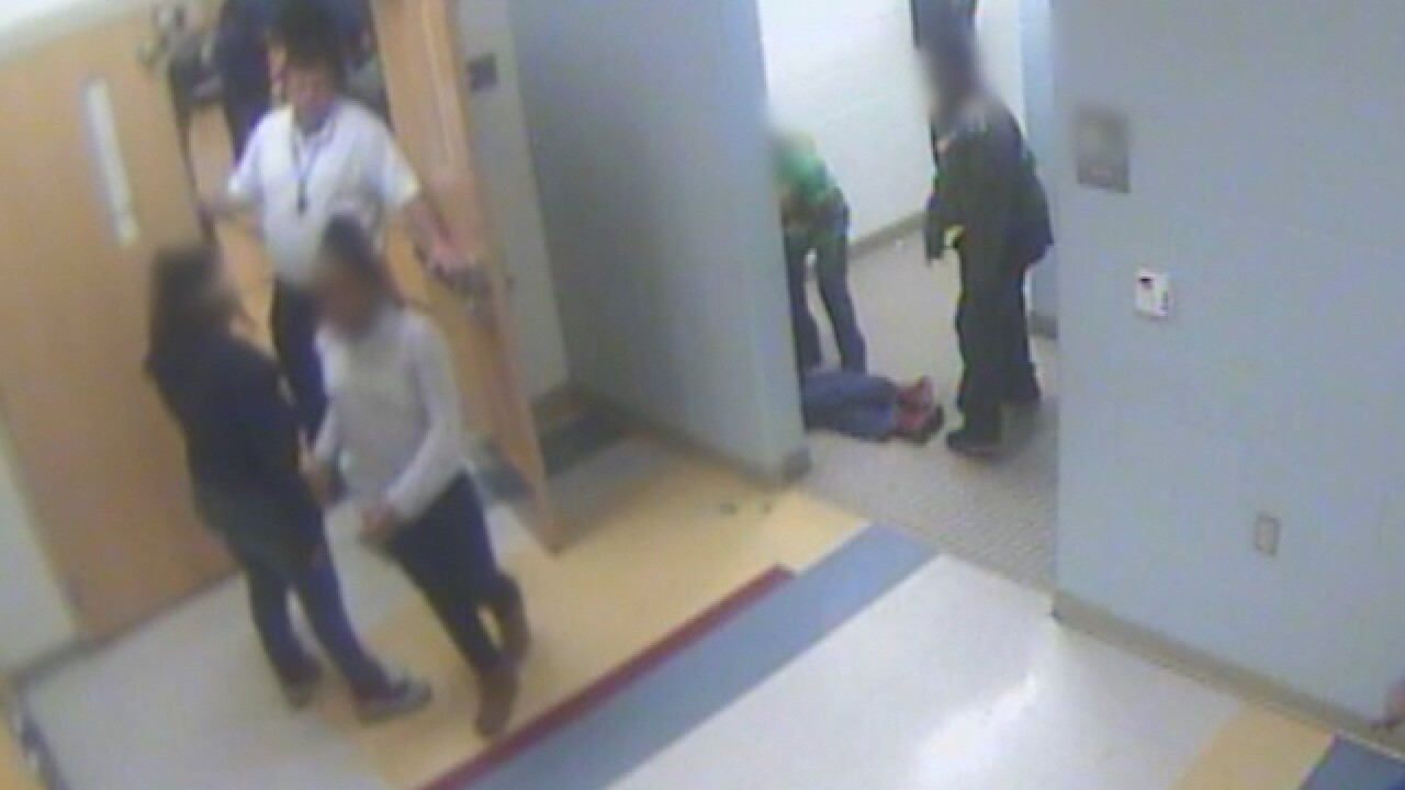 Video shows school fight before boy's suicide