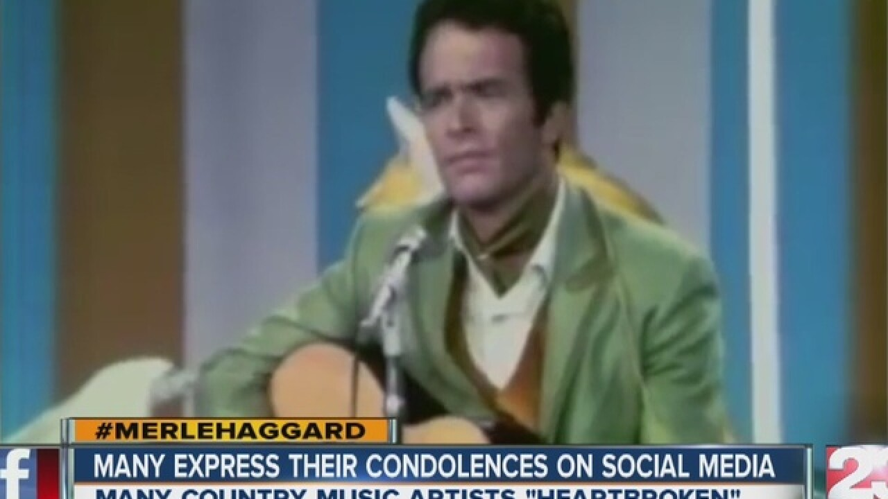 Social media remembers Merle Haggard
