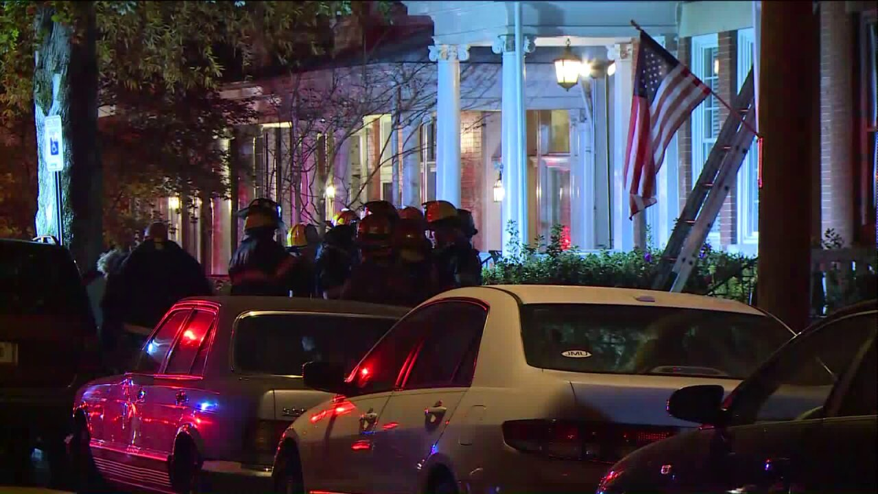 Man seriously injured after being rescued from bedroomfire