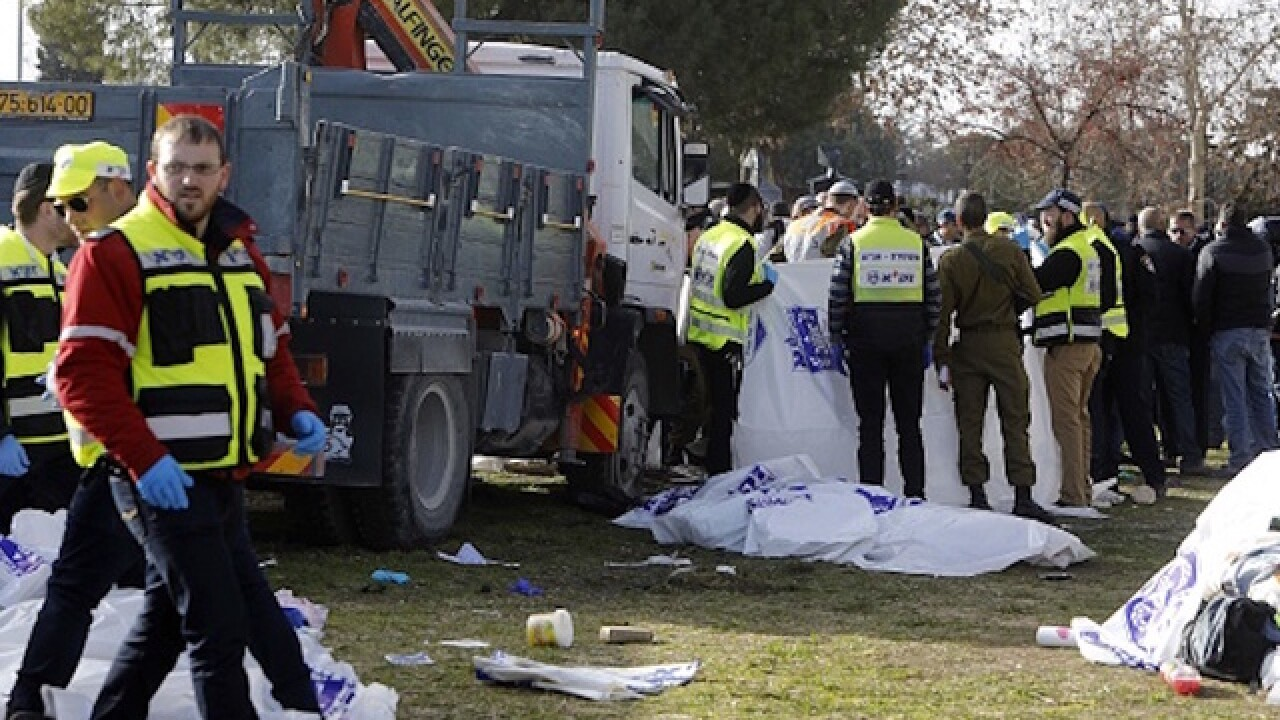 4 killed in Jerusalem vehicle attack