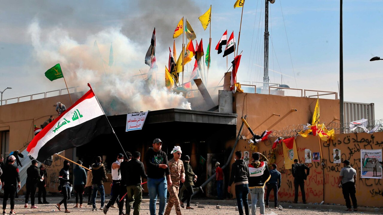 US sending additional forces to protect embassy threatened by protesters in Iraq
