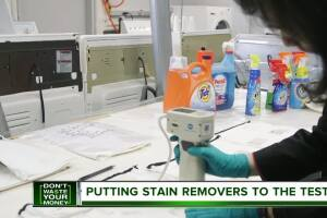 Don't Waste Your Money: Putting stain removers to the test