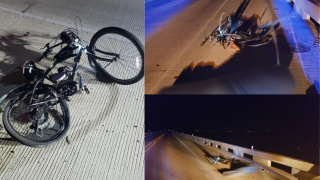 Police seeking leads on a hit and run that left a cyclist seriously injured this morning