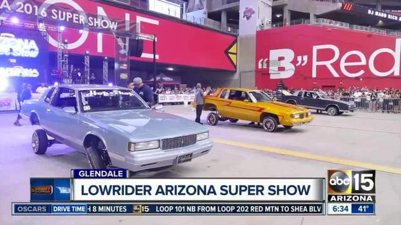 HALF OFF ADMISSION! Hop on over to this car show at University of Phoenix Stadium