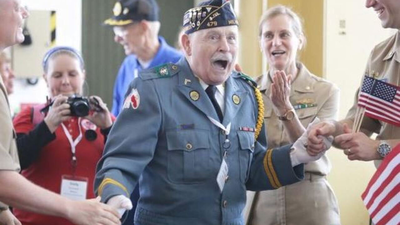 LIVE: WTMJ's Operation Parallel Honor Flight
