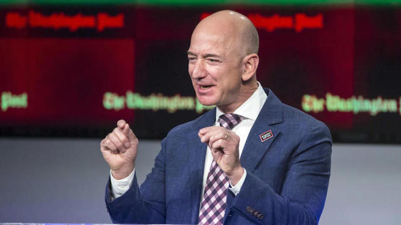 Trump slams Amazon's Bezos