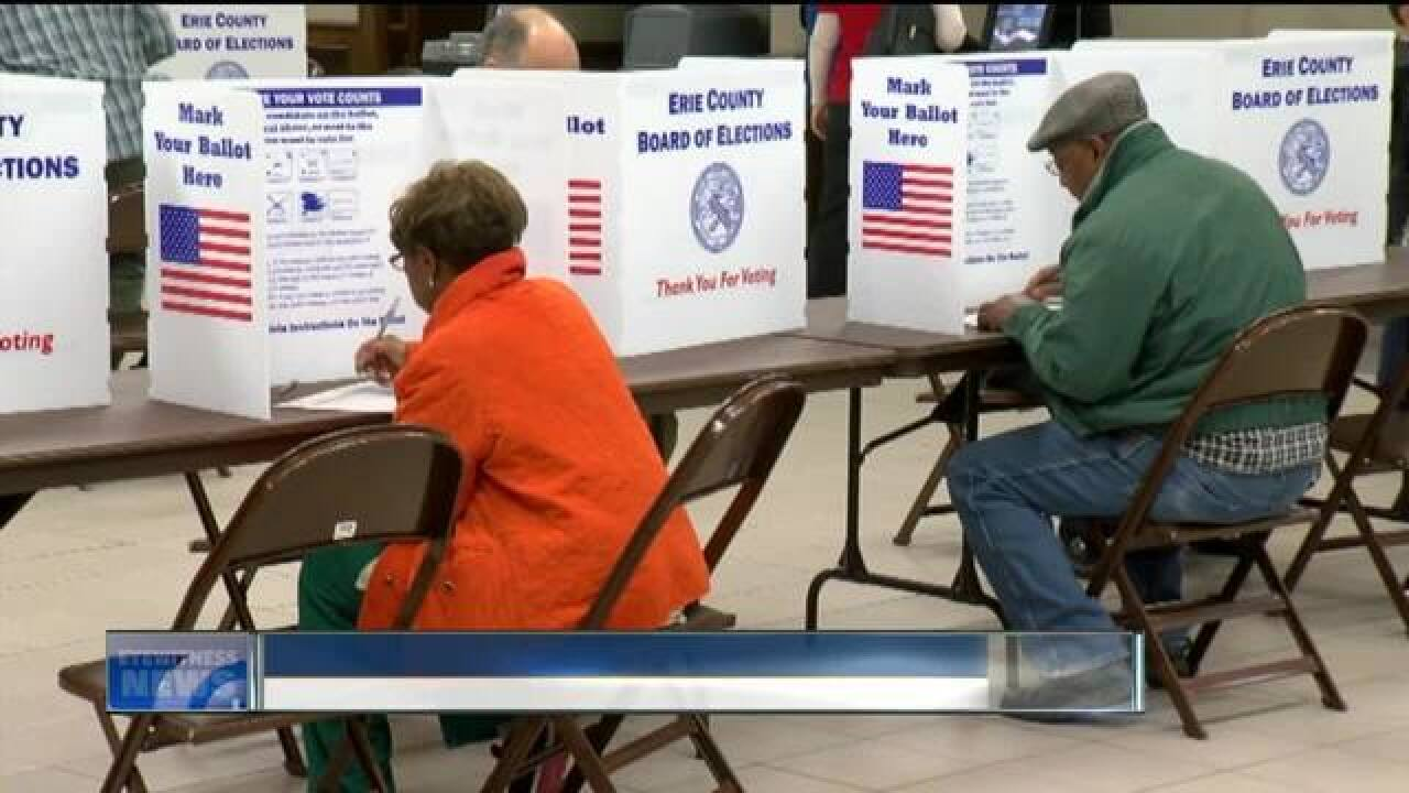 Democratic ballots run out after large voter turnout in Buffalo
