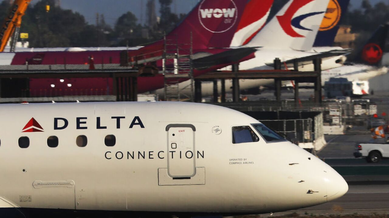Delta, Southwest Airlines have delays today
