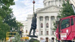 Racial Injustice Capitol Statues