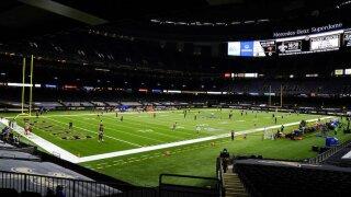 Buccaneers Saints Football