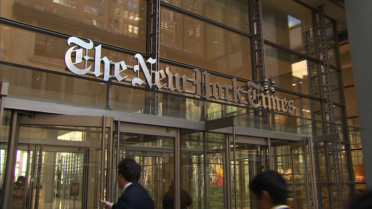 Critics bemoan New York Times' decision to stop running editorial cartoons