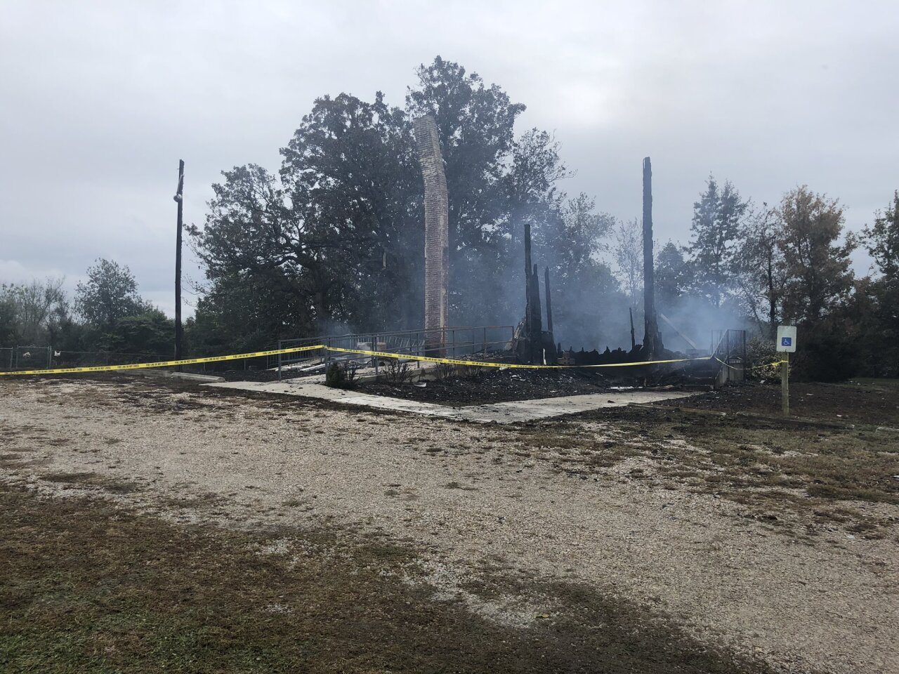 Woods Chapel church in Odessa destroyed in fire