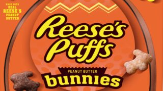 Reese's Puffs Are Getting A Bunny-shaped Makeover For Spring