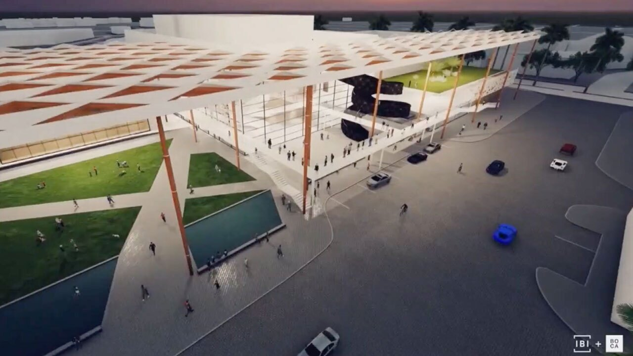 Proposed arts center in Boca Raton
