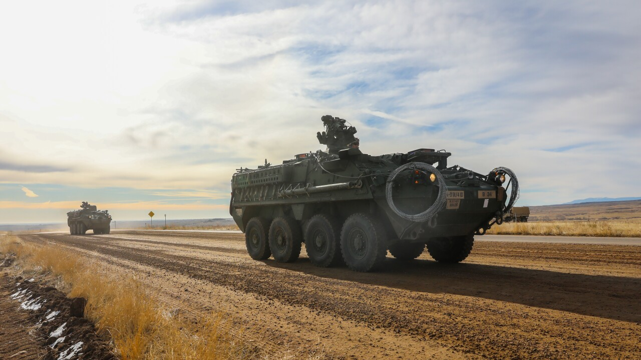 Stryker training