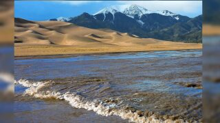Surge flow at Great Sand Dunes National Park and Preserve expected in coming weeks