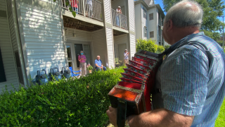 Muskegon Accordion Player