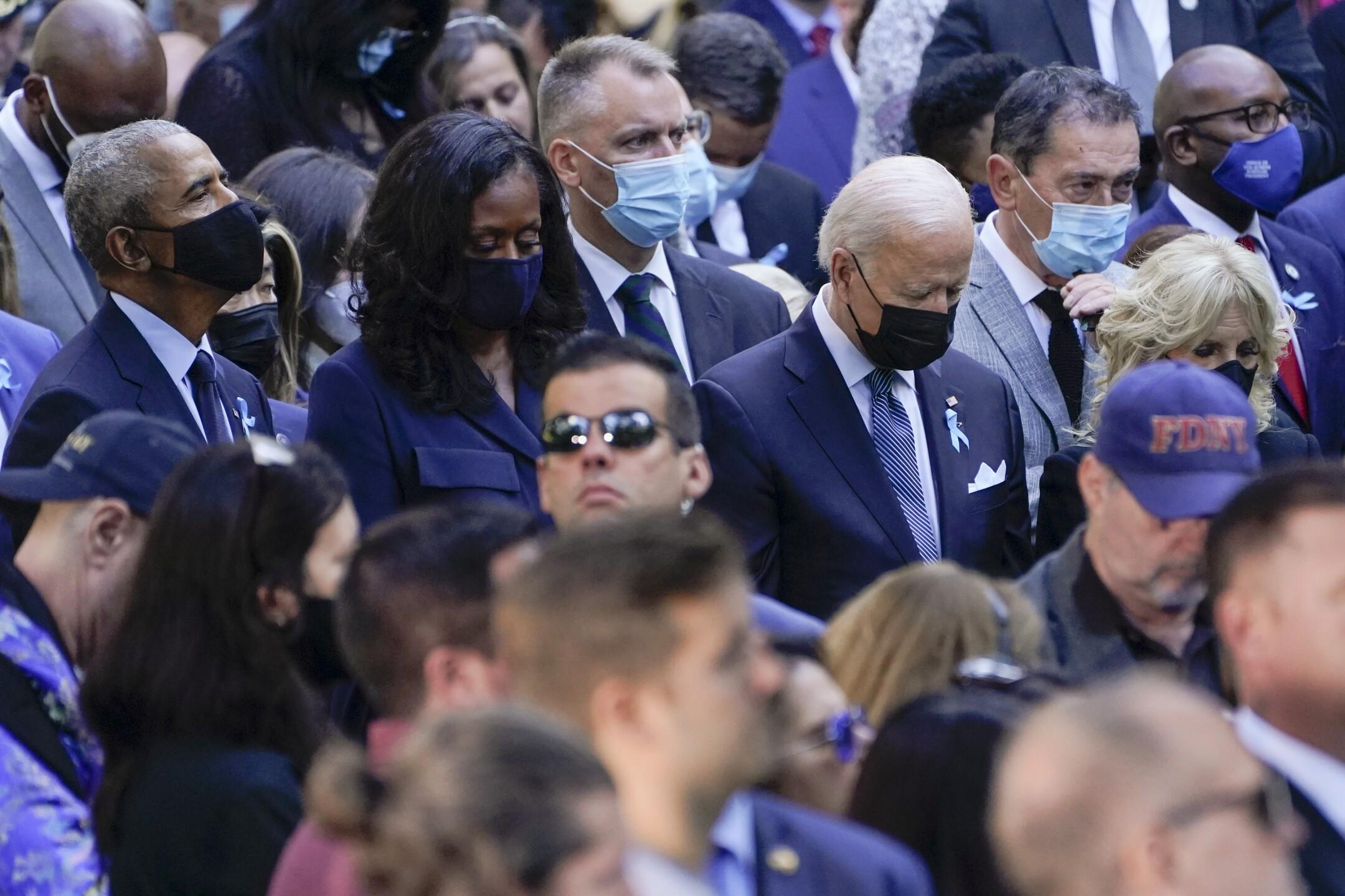 Joe Biden, Jill Biden, Barack Obama, Michelle Obama