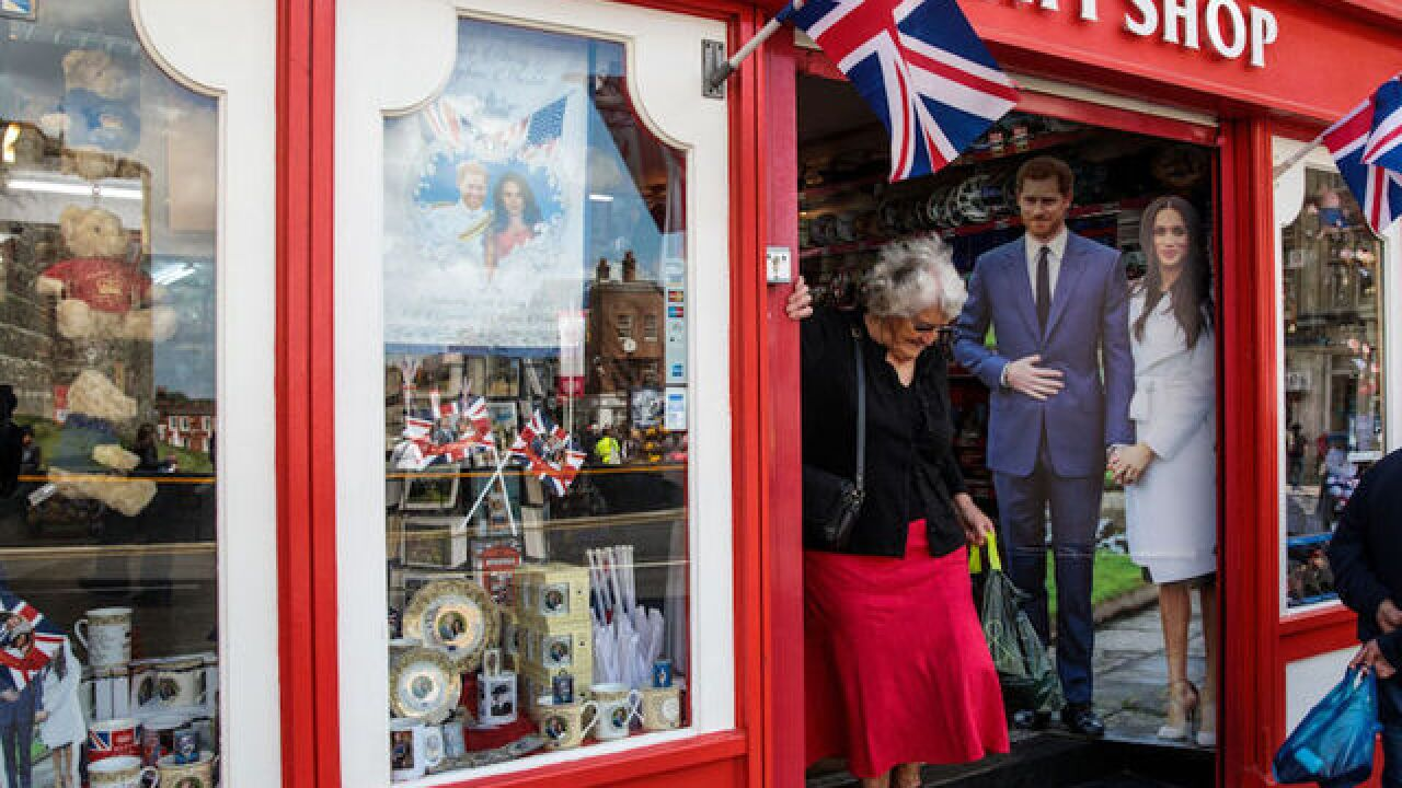 PHOTOS: England's royal wedding 2018 preparations