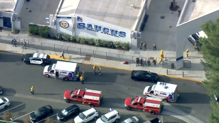 Police responding to shooting at southern California high school