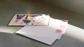 File image of a card