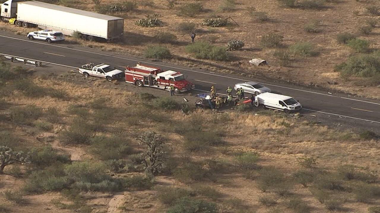 DPS: Two killed in US 93 Wickenburg crash