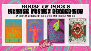 House of Rock Vintage Poster Collection