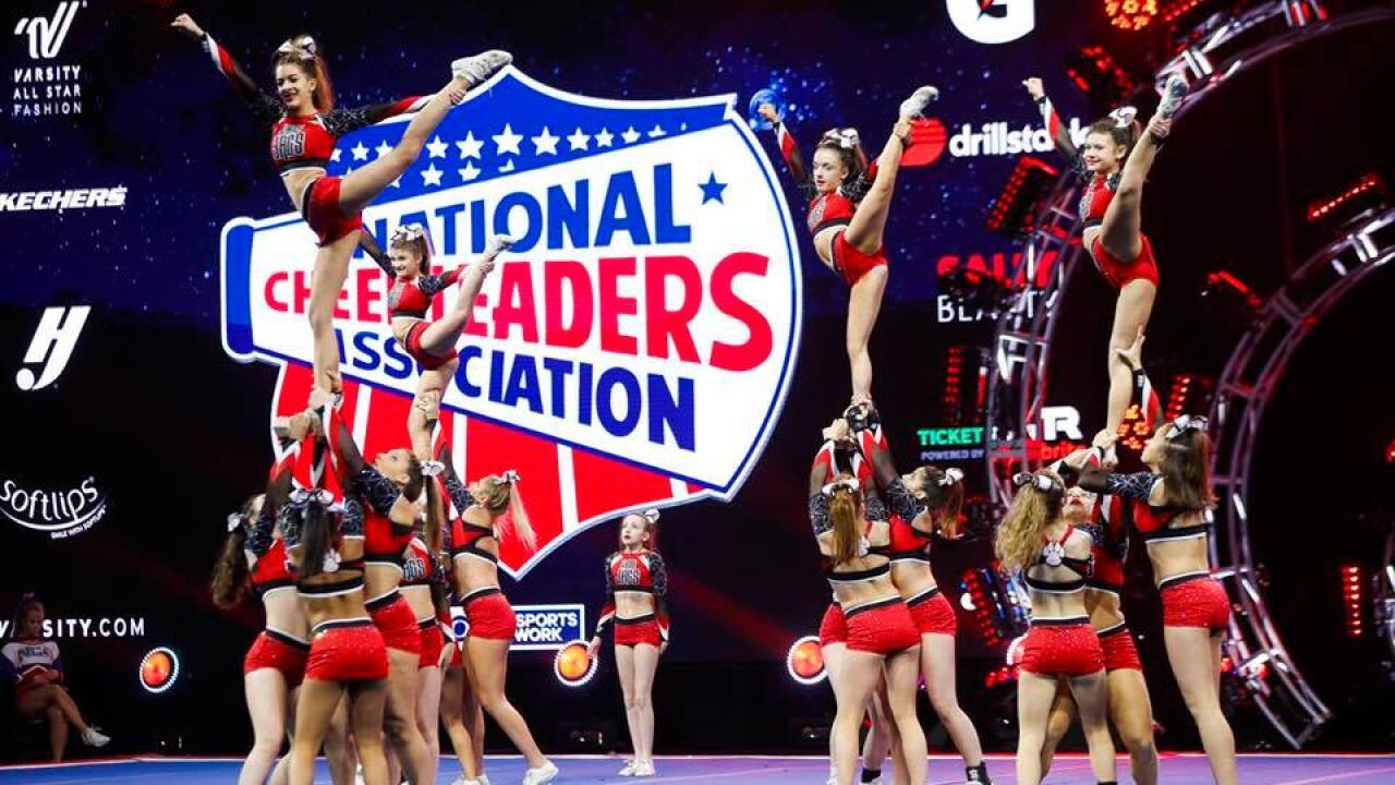 Thousands may have been exposed to mumps at a national cheerleading contest