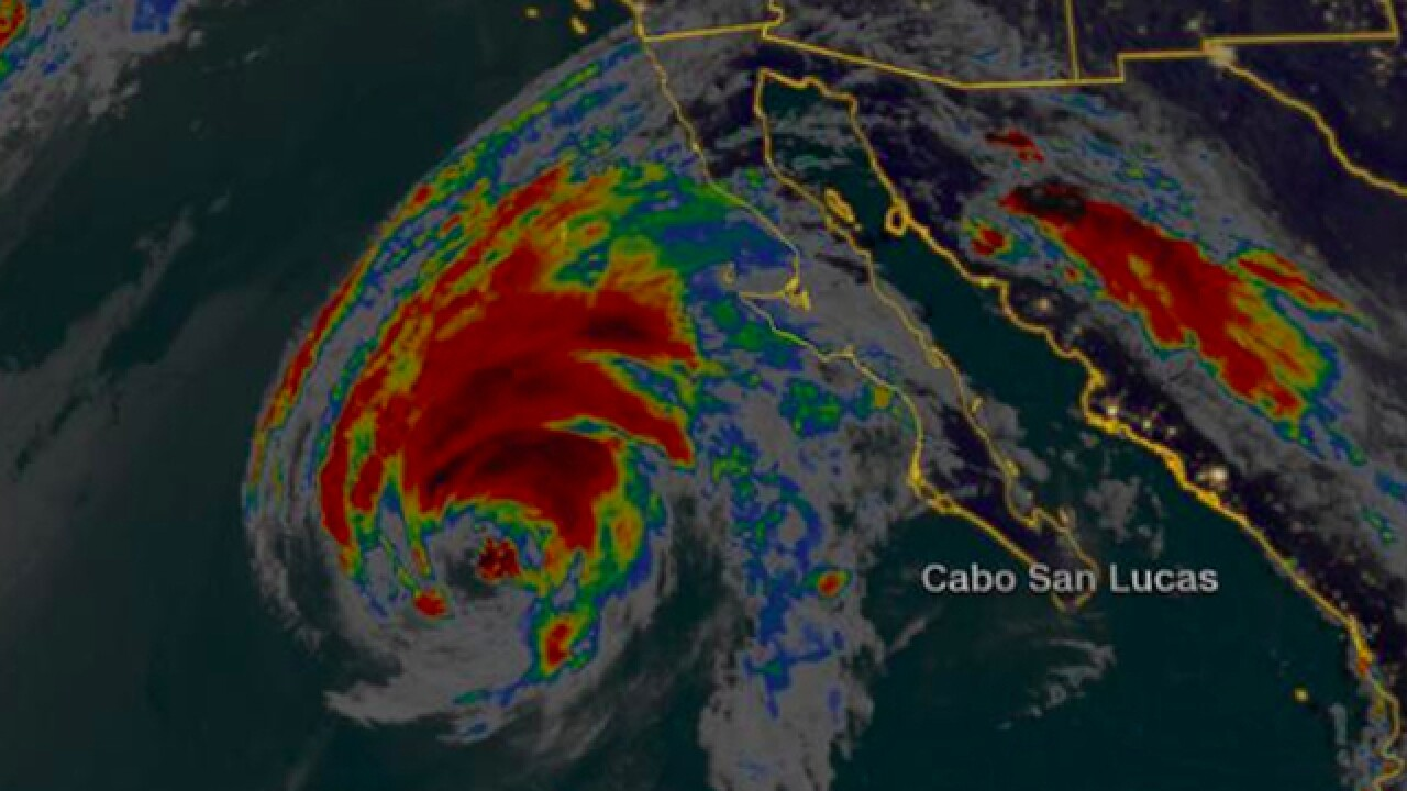 Tropical Storm Rosa to drench the arid Southwest US