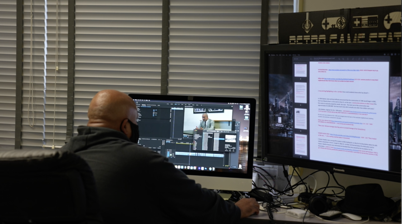 The Lansing Public Media Center offers public access to professional level tools to produce media and practice editing, recording and filming