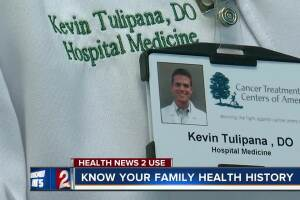 Know your family health history