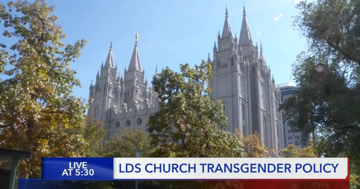 LDS Church defines what transgender members can and cannot do in new handbook policy