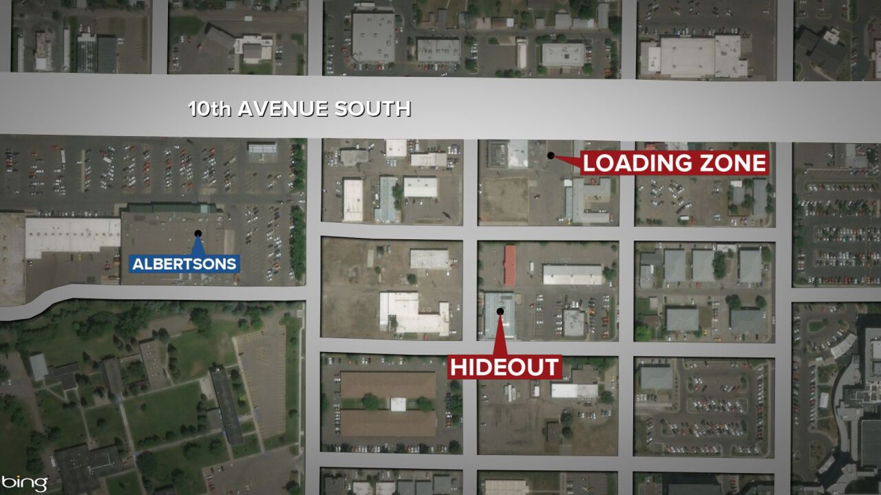 GFPD believes the incident began at the Hideout Lounge and spilled over into an area near the Loading Zone