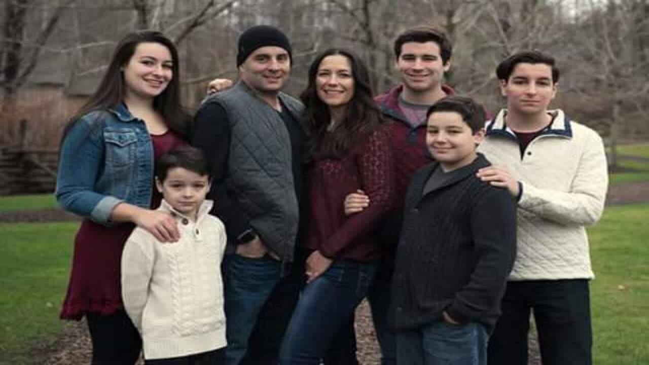 Michael Palumbo's family