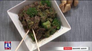 Easy Ham Fried Rice and Easy Beef andBroccoli